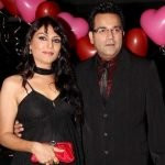 Anjali Mukhi with her husband Indraneel Bhattacharya