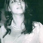 Zarine Katrak Khan as model in 1960s