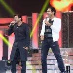 Karthik with A R Rahman