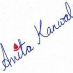 Anita Kanwal's Signature