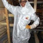 Kara McCullough as a Scientist