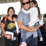 Fardeen Khan With His Wife And Children