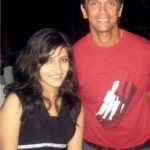 Poorvi Koutish With Rahul Dravid