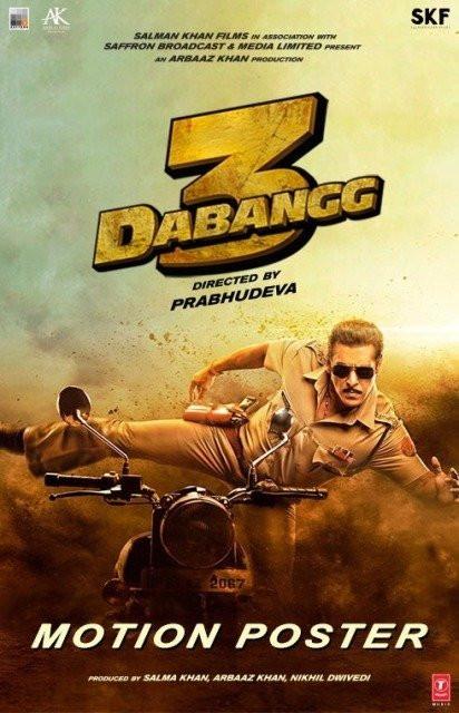 Dabangg 3 poster