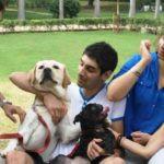 Aisha Chaudhary with Family