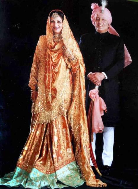 Sharmila Tagore And Mansoor Ali Khan Pataudi