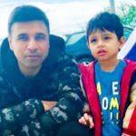 Pankaj Batra with his son