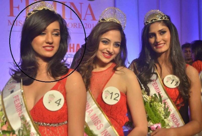 Disha Patani Became First Runner-Up At Miss Indore Title 2013