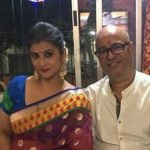 Pallavi Rao with husband