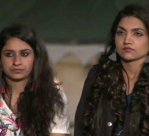 Surbhi Rana with Kriti Verma in MTV Roadies Xtreme