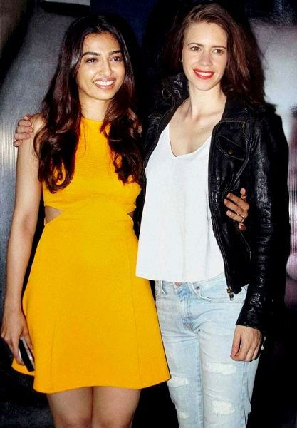 Radhika Apte with Kalki Koechlin