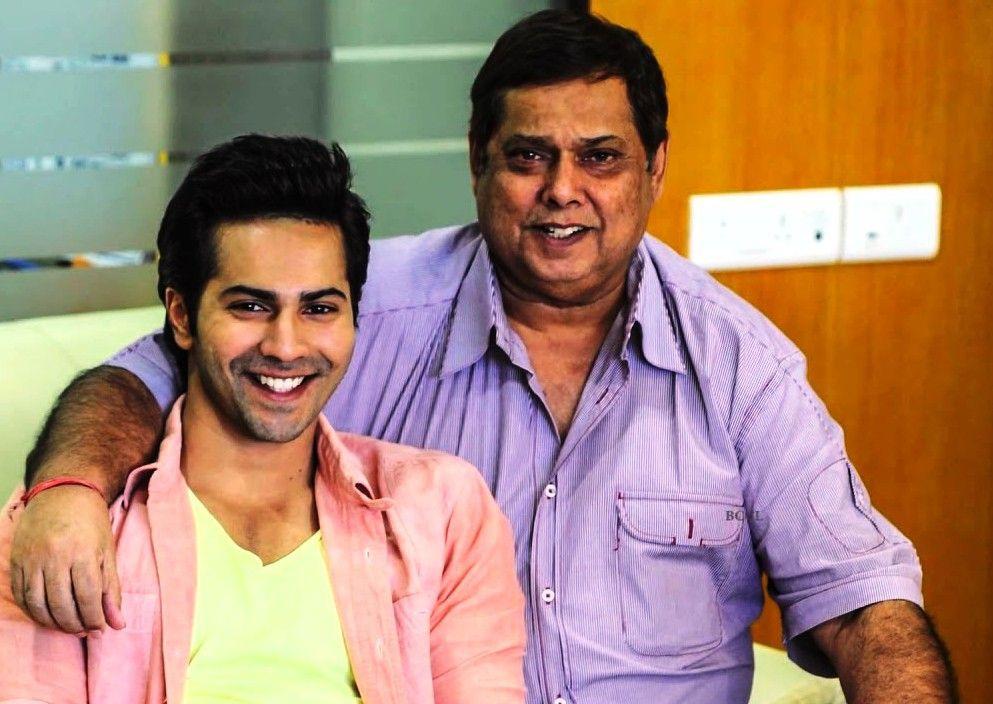 Varun Dhawan With His Father