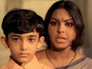 Aamir Khan As A Child Actor In Yaadon Ki Baraat