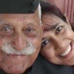 Chhavi Rajawat with her father