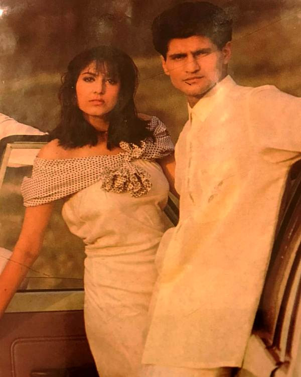 Rajiv Makhni in his younger days