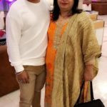B Praak With His Mother