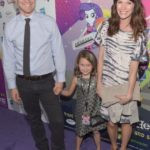 Mark Duplass With His Wife Katie Aselton and Daughter Ora Duplass