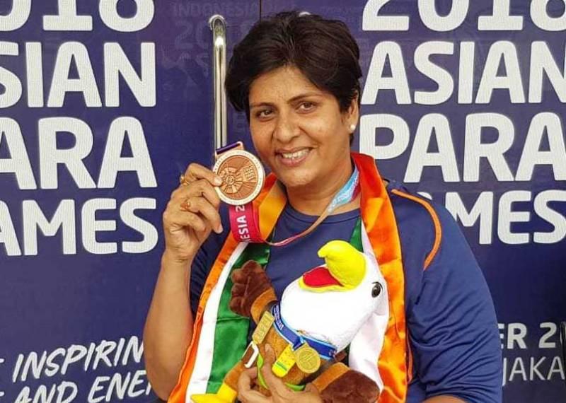 Deepa Malik in Asian Para Games