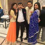 Sargun Mehta with her family