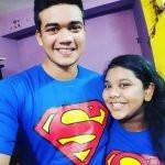 Taskin Ahmed and his sister