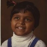 Mindy Kaling childhood photo