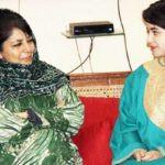 Zaira Wasim and Mehbooba Mufti Sayeed