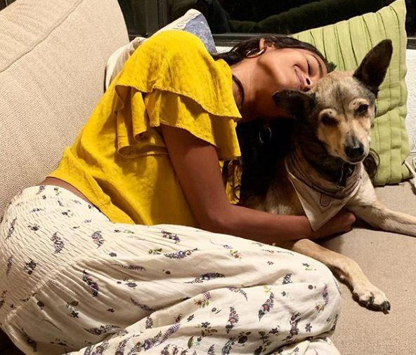 Nidhi Sunil- Dog Lover