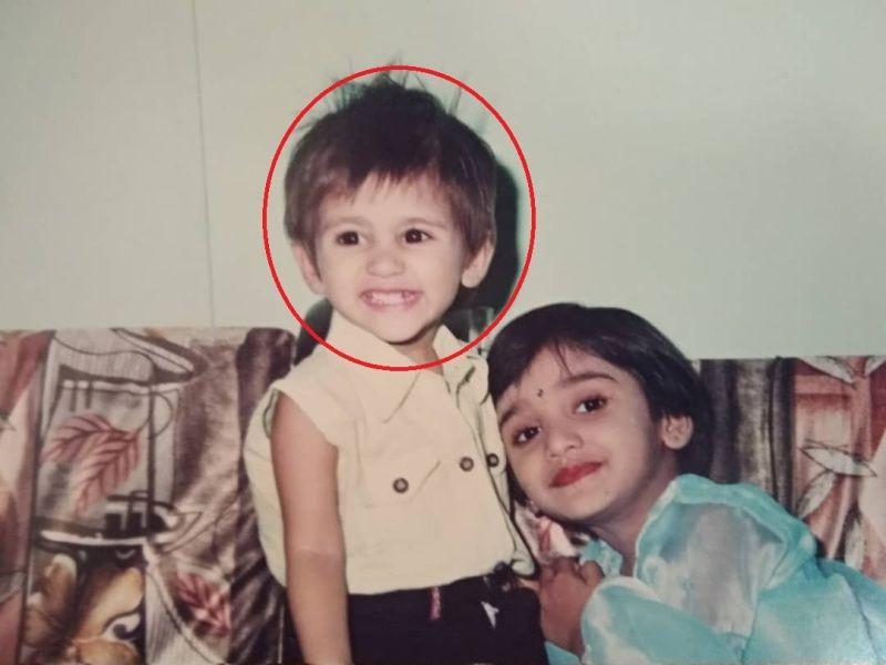 Pranali Rathod's childhood picture