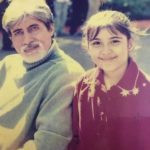Sheena Bajaj as a child artist- during the shoot of 'Bhoot Unkle'