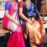 Malavika Avinash with her sister Ranjani Ganesan Ramesh