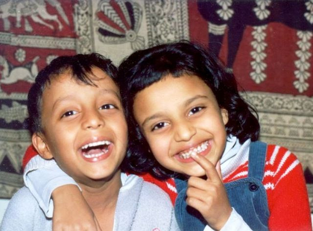 Swara Bhaskar's childhood pic with her brother