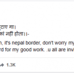 Shrestha Thakur Facebook Post