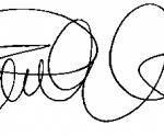 Pamela Anderson Signature
