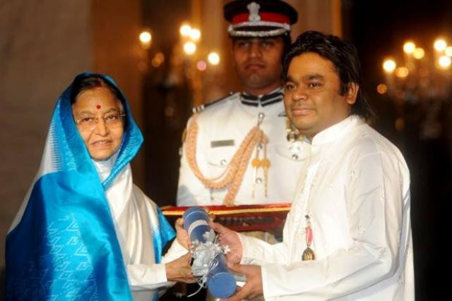 A. R. Rahman Padma Bhushan