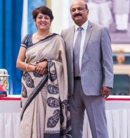 Parikshit Bawa's parents