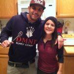 Matt Alonzo with his sister