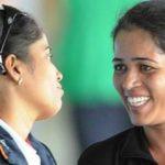 Tejaswini Sawant With Her Coach Kuhelee Ganguly