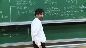Akshay Venkatesh Teaching