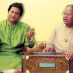 Anup Jalota with his father Purshottam Das Jalota