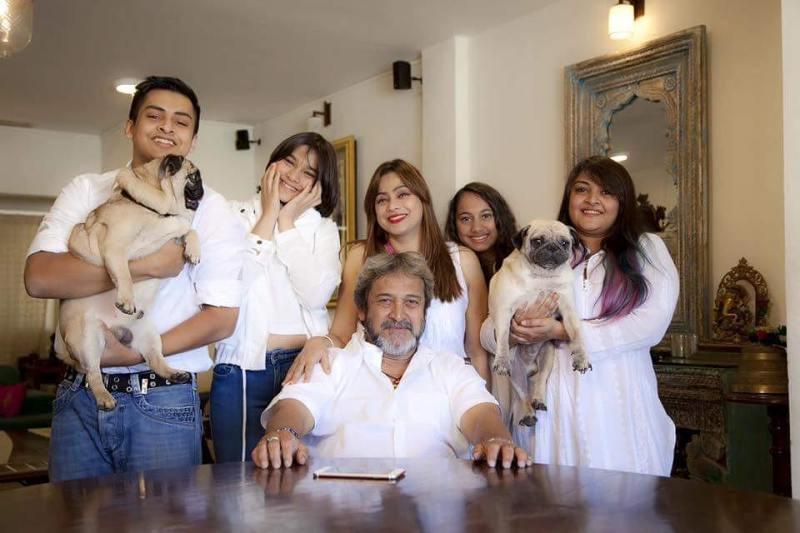 Gauri Ingawale with her family