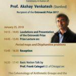 Akshay Venkatesh Ostrowski Prize