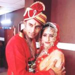 Rahul Raj Singh with Saloni Sharma