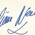 Liam Neeson Signature