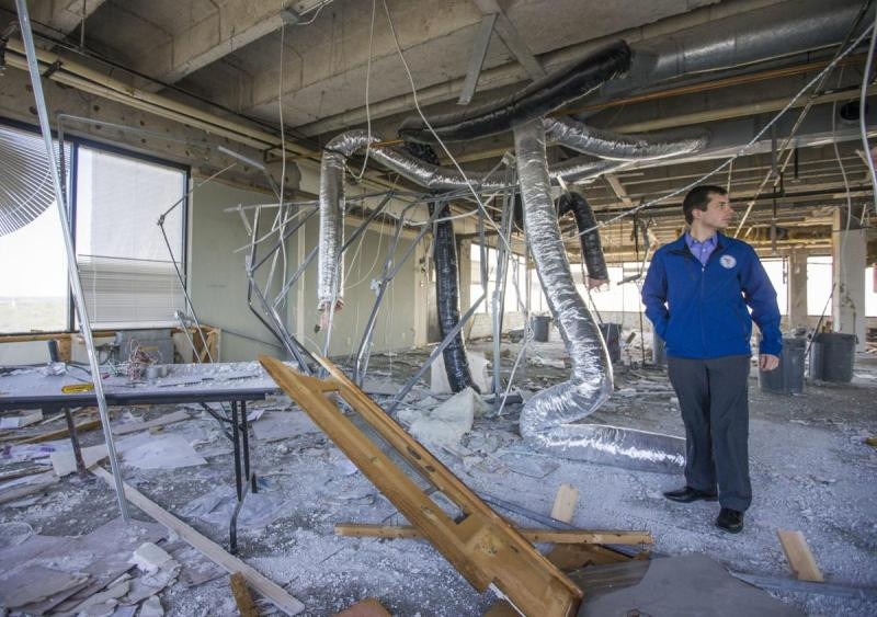 Pete Buttigieg Looking At A Demolition Drive