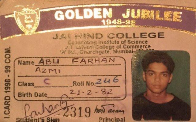 Farhan Azmi's identity card