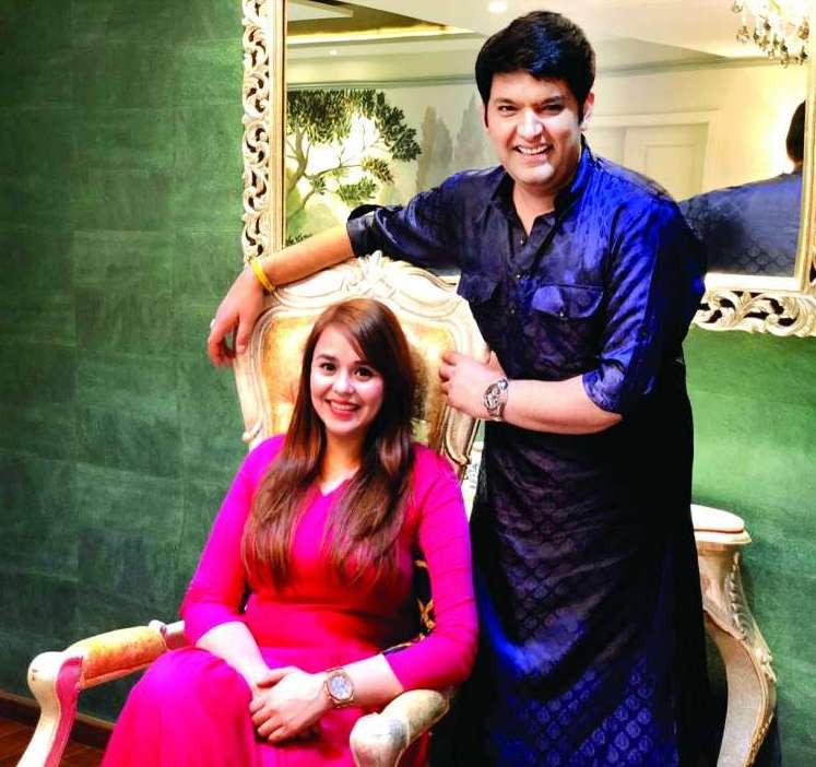 Ginni Chathrath and Kapil Sharma