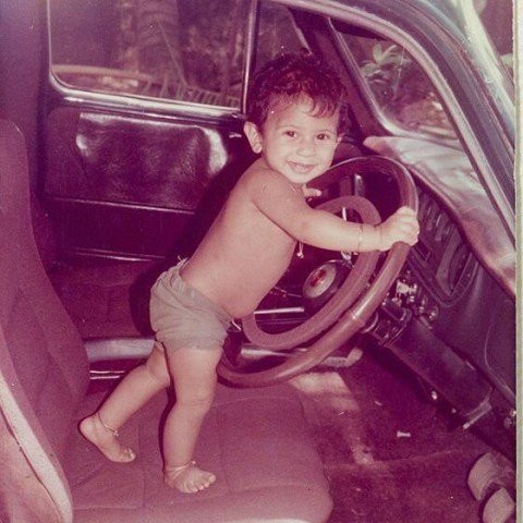 Dulquer Salmaan's childhood picture