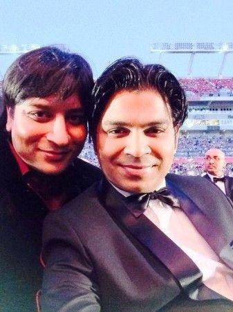 Ankit Tiwari with His Brother- Ankur Tiwari