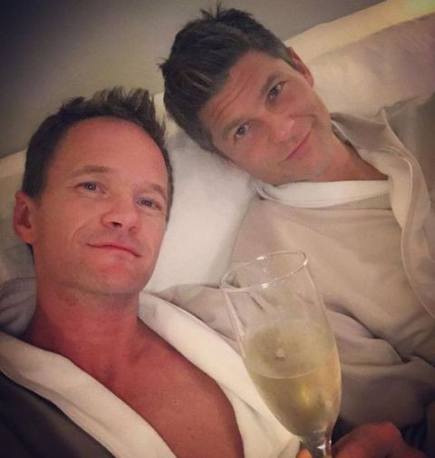 Neil Patrick Harris drinks alcohol