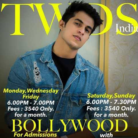 Aadil Khan's dance workshop poster
